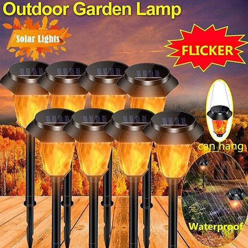 Garden Lights Solar Lawn Light Outdoor Lighting Flickering Flame Torch Lights