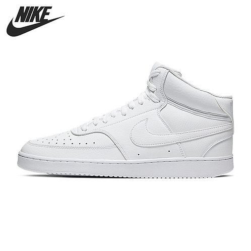 Original New Arrival  NIKE COURT VISION MID  Men's Skateboarding Shoes Sneakers