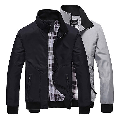 Autumn Jacket Mens Casual Jacket Sportswear Jacket Male Coats Plus Size