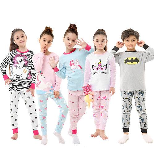 Kids Animal Pajamas Dinosaur Cartoon Pyjamas