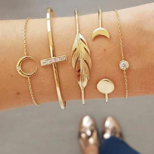 Stacked Bracelet Set #3