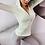 Thumbnail: Women Long Sleeve Yoga Shirt and Yoga Leggings Seamless Set