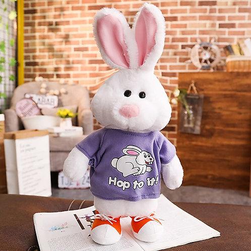 Talking Rabbit Speaking Plush Toys Electronic Stuffed Animals for Children