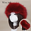 Thumbnail: 2019 Winter Thick Furry Hairband Fluffy Russian Faux Fur Women Girl Fur Headband
