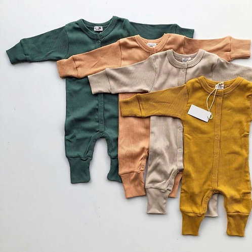 Pudcoco Newborn Baby Clothes Kids Knitted Romper Infant Jumpsuit Sleepwear