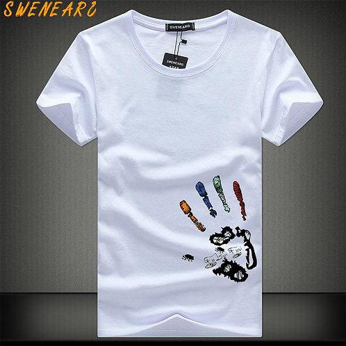 SWENEARO Men T-Shirts Plus Size