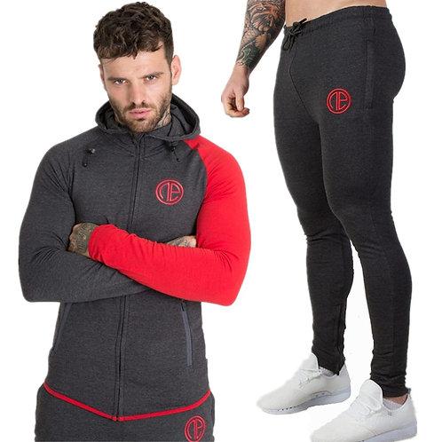 Mens Running Sportswear Set Workout Tracksuits
