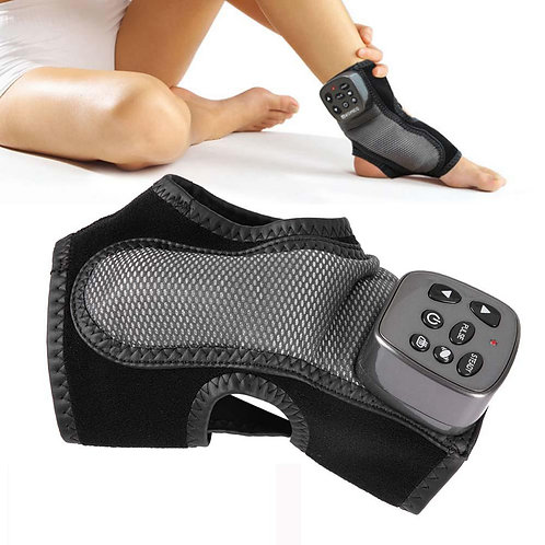 Body Massager Electric Foot Ankle Massager Vibration Heating Foot Acupuncture