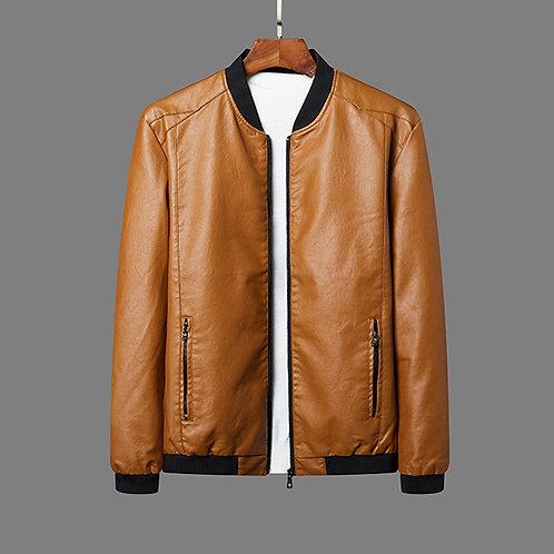 Jackets PU Leather Jacket Men Blazer Men's Jacket Motorcycle 8XL