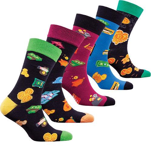 Men's Money Socks