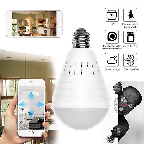 LED Light Camera 960P Wireless Panoramic Home Security WiFi CCTV