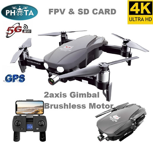 F8 Drone 4k Professional Brushless 5G WIFI Drone GPS Quadcopter With Camera