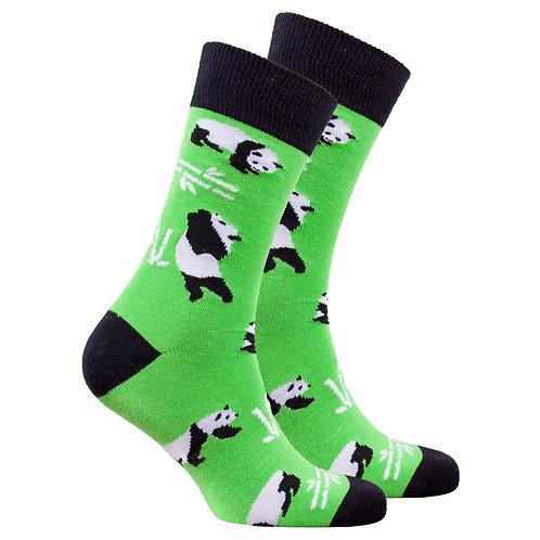 Men's Silly Panda Socks