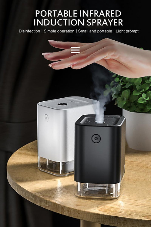 Touchless  Automatic Alcohol Sanitizer Dispenser Induction Spray Dispenser