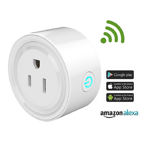 Smart Plug Wifi Smart Socket with Amazon Alexa echo and Google Home Control