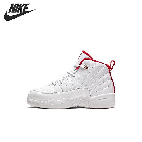 Original New Arrival  NIKE 12 RETRO (PS) Boys Kids Basketball Shoes Sneakers