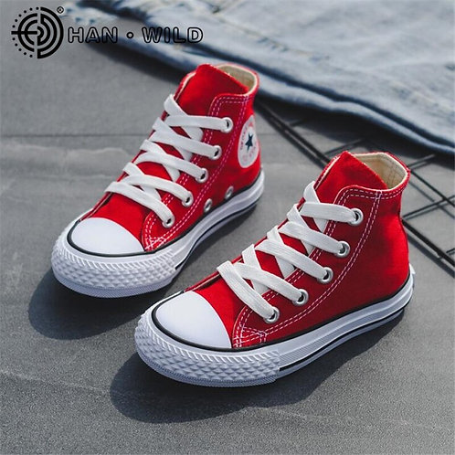Canvas Children Shoes Kids Sneakers Toddler Boy Shoes