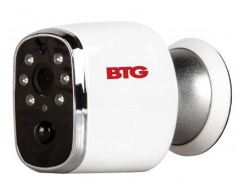 Bolide BTG-WIP70P BTG HD Wi-Fi Wireless Indoor/Outdoor Security Camera