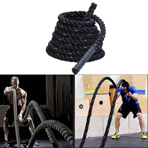 Heavy Jump Rope Skipping Rope Workout Battle Ropes