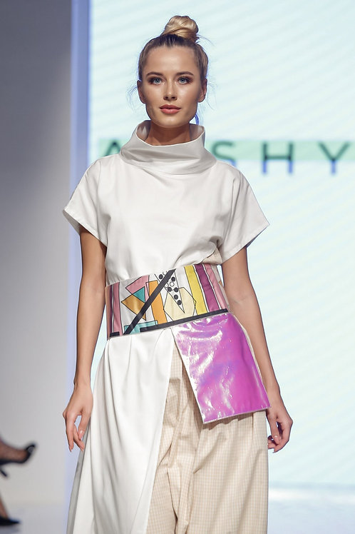 Tunic Plus Dress With Detachable Belt