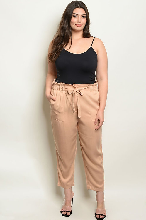 Sand Plus Size Pants