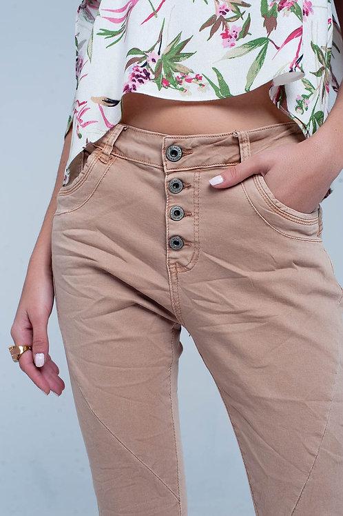 Brown Crush Jeans