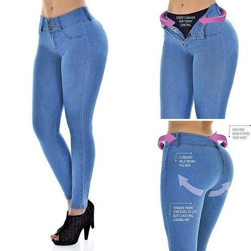 New Plus Size Jeans Woman High Waist Stretch Boyfriend Mom Jeans