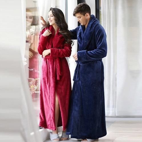 Men's and Women's Long Robe Plush