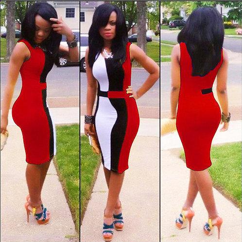 Summer Dress 2020 Women Sleeveless Sexy Casual Dress Plus Size Party Club Dress