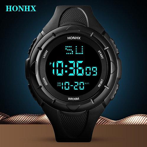 Luxury Men's Electronic Digital Watch LED Sports Men's Outdoor Electronic Watch