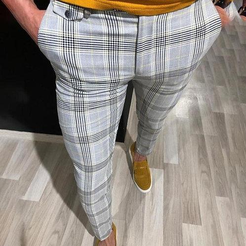 Sfit Mens Slim Fit Trousers Casual Pants Joggers Skinny Bottoms Men Trousers