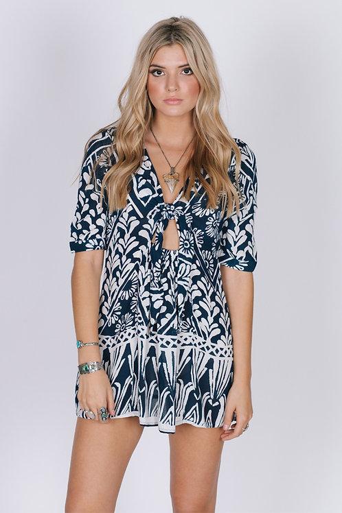 Tropic Blues Dress