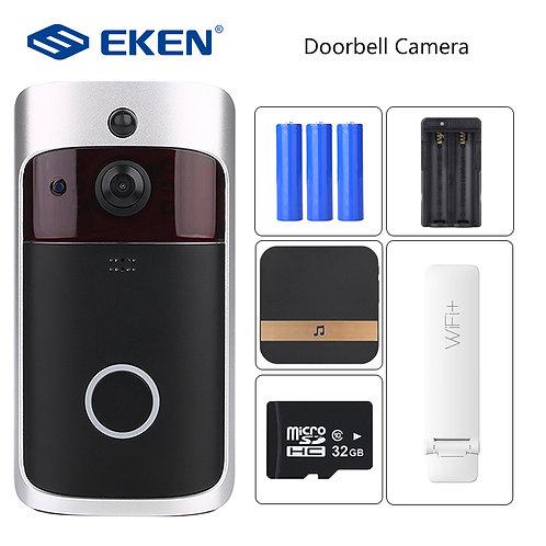 EKEN  Intercom WIFI Doorbell Camera  IR Alarm Wireless Security Camera