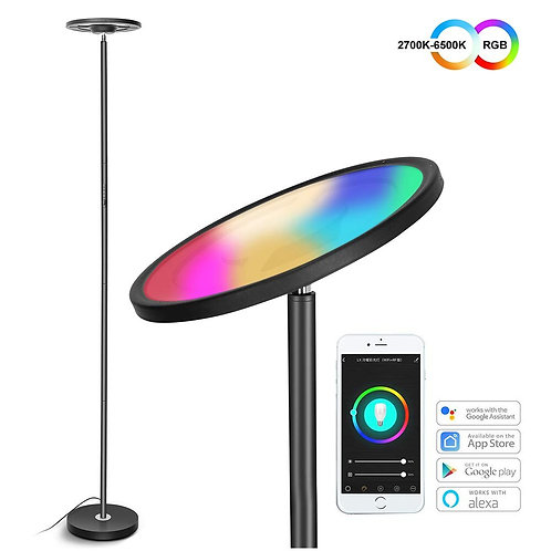 Smart WIFI Remote Control Dimmable Standing Lamps