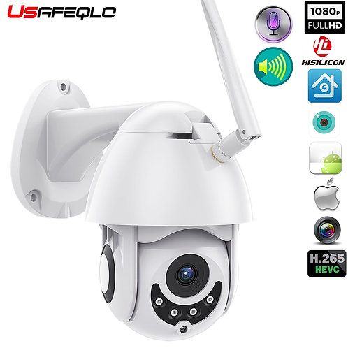 WIFI Camera Outdoor PTZ IP Camera H.265X 1080p Speed Dome CCTV