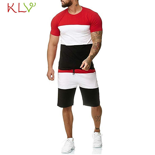 Two-Piece Sets T-Shirt Tops Short Pants
