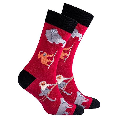 Men's Monkey Socks