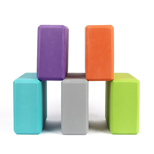 Yoga Block Colorful Foam Block Brick Exercise Fitnes