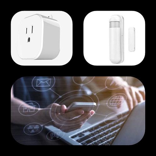 Smart Plug & Security Starter Kit (Smart Home)