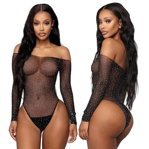 Women Sexy Mesh Transparent Lingerie