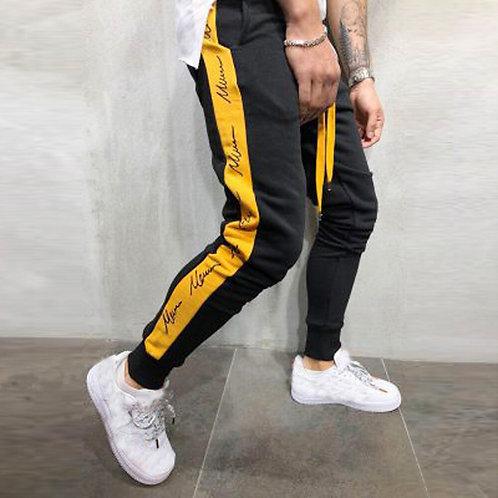 Jeans Mens Joggers Patchwork Casual Sweatpants Trouser Pants Plus Size Men Jeans