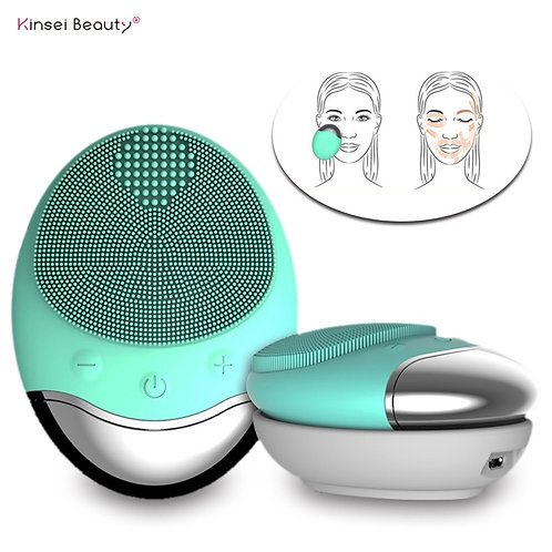 Electric Wireless Facial Cleansing Brush