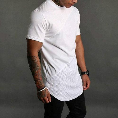 Brand Mens Muscle T Shirt Bodybuilding Fitness Men Tops Cotton Plus Big Size