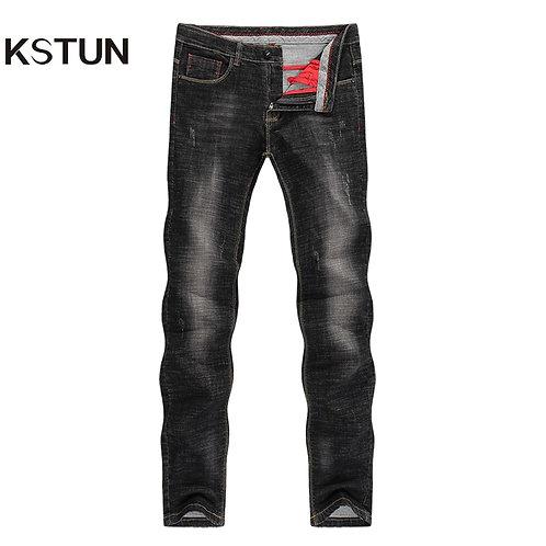 Men's Jeans 2020 Mens Black Jeans Slim Fit Stretch Denim Casual Quality Pants