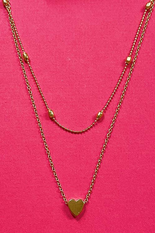 Tiny Heart Pendant Necklace