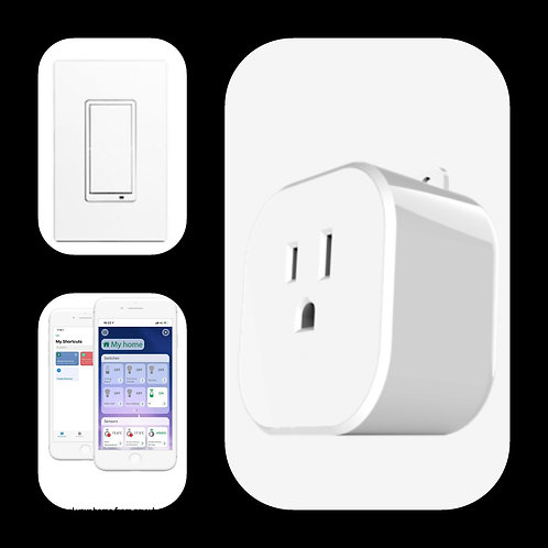 In-wall Dimmer Switch & Smart Plug Starter Kit (Smart Home)
