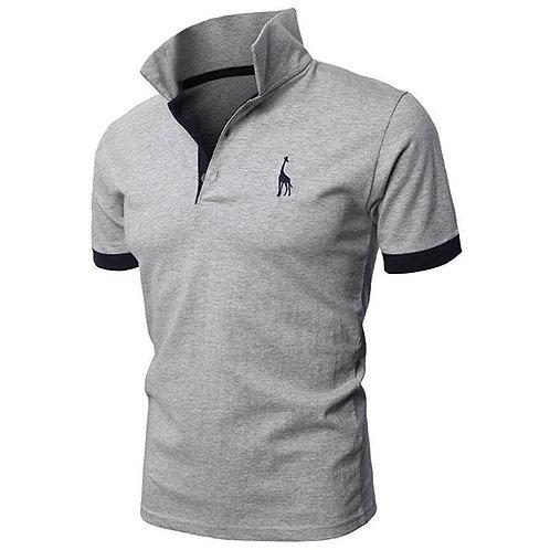 Man Polo Shirt Casual Shirt