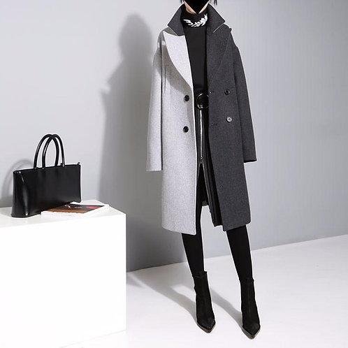 Dinah Cruella Patchwork Coat