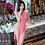 Thumbnail: Lingerie Midi Dress High Split Babydoll