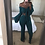 Thumbnail: 2019 Autumn Sexy V Neck Lady 2 Piece Set Women Elegant Casual Outfit